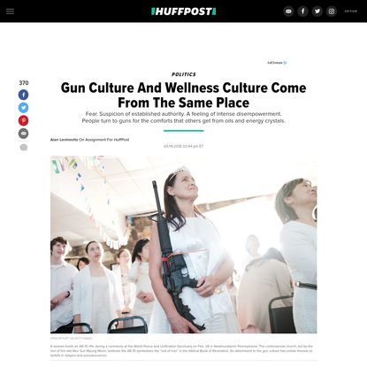 Gun Culture And Wellness Culture Come From The Same Place