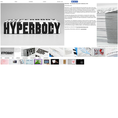 Mind Design - Hyperbody