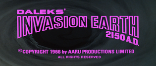 Daleks: Invasion Earth 2150 A.D. (1966)