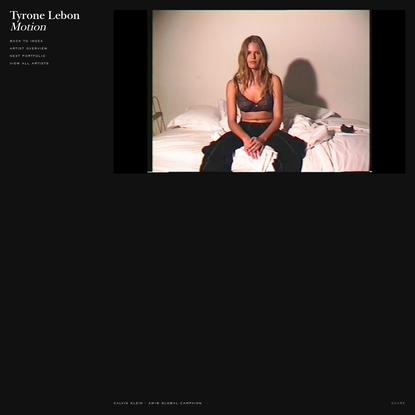 MAP - Tyrone Lebon - Motion