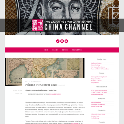 Policing the Contour Lines - China Channel