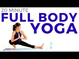 20 minute Full Body Yoga Flow | Intermediate Vinyasa Yoga Routine