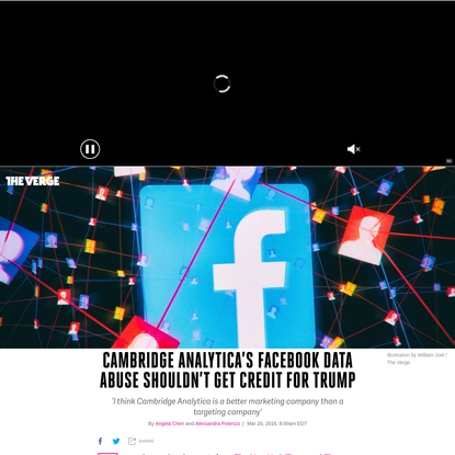 Cambridge Analytica's Facebook data abuse shouldn't get credit for Trump