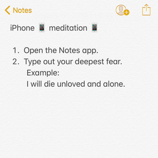 👹meditation for confronting your fears📱, by Yumi Sakugawa