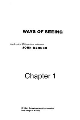 Ways of Seeing—Berger