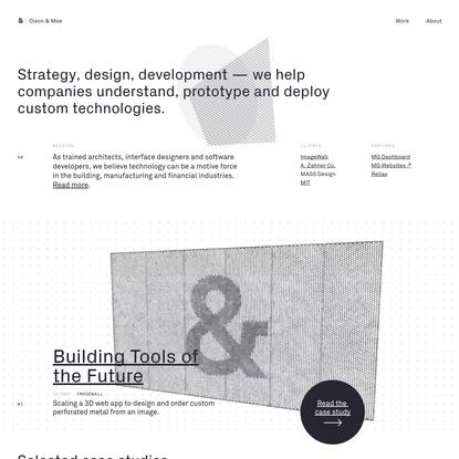 Dixon & Moe - Strategy, Design, Development