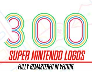 300+ Super Nintendo Logos Fully Remastered