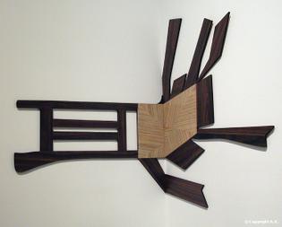 Artschwager - Splatter Chair I