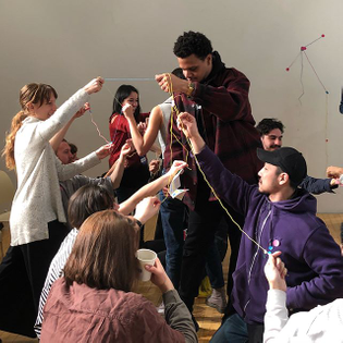 Taeyoon Choi and the School for Poetic Computation led a hands-on investigation into distributed networks of care.