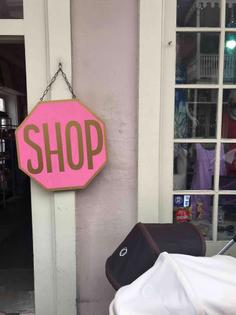 stop shopping David