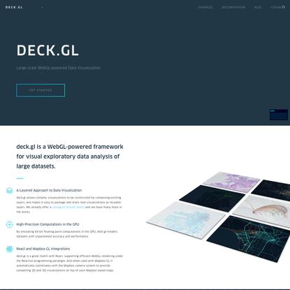 Large-scale WebGL-powered Data Visualization