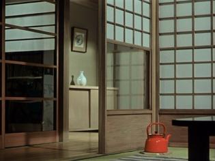 Ozu interior, Equinox Flower, 1958.