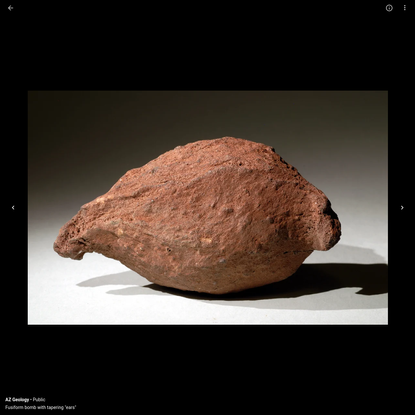 Volcanic Bombs (Igneous Rocks)
