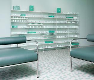 Medly Pharmacy Lobby, Brooklyn