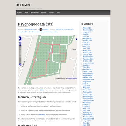 Psychogeodata (3/3)