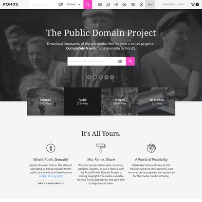 Public Domain | Pond5