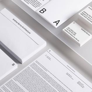 Andrew Burns Architecture by @studiospgd - See more on the-brandidentity.com - #logo #branding #brandidentity #logotype #graphicdesign #design #contemporary #typography #studio