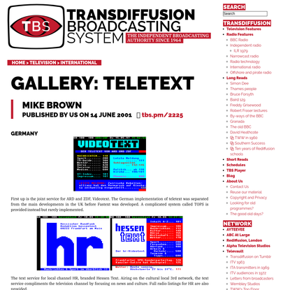 Gallery: Teletext