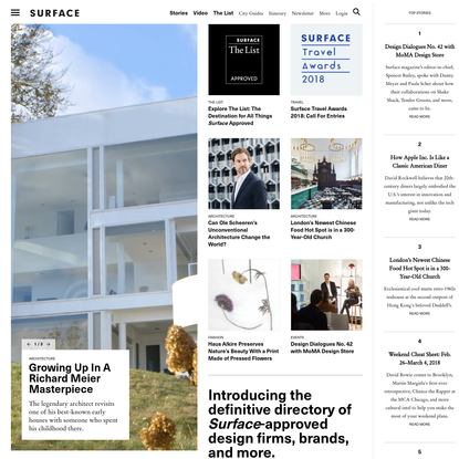 Homepage - SURFACE