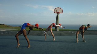 Agostina Gálvez captures three Olympic gymnast hopefuls in action