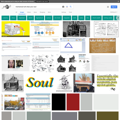 mechanical turk draw your soul - Google Search
