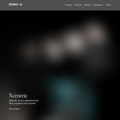 DOMO-A | Art direction & graphic design