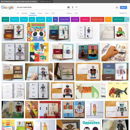 mix and match book - Google Search