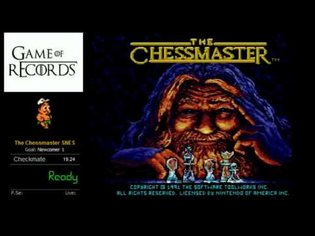 The Chessmaster SNES Speedrun WR (0:18.64)