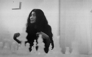 Yoko Ono, White Chess Set, 1966