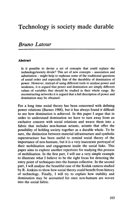Latour-Technology-is-Society-Made-Durable.pdf