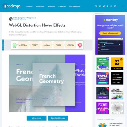 WebGL Distortion Hover Effects   Codrops