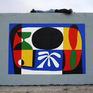 Painting days are the best days 🐸 #zebu #zebuillustration #illustration #mural #painting