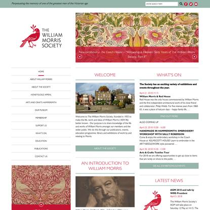 The William Morris Society