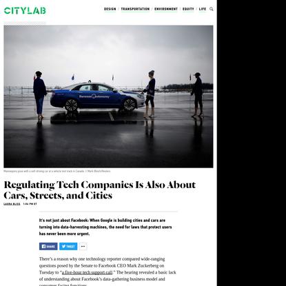 'Smart Cities' Need a Regulatory Reckoning, Too