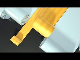 Cinema 4D Tutorial - Create a Rolling Banner in Cinema 4D
