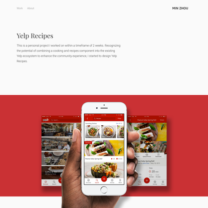 Yelp Recipes