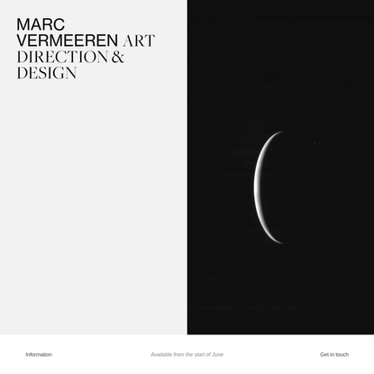 work - Marc Vermeeren