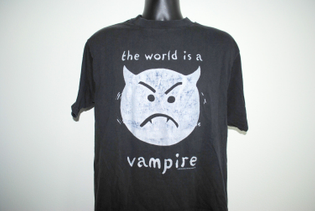 1996 The Smashing Pumpkins Infinite Sadness Tour 90's Vintage Bullet With Butterfly Wings Grunge Rock Band The Wo...