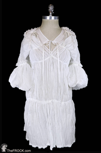 Junya Watanabe, Comme des Garcons dress, avant garde, white ivory, Japanese couture day or evening, festival, origami...