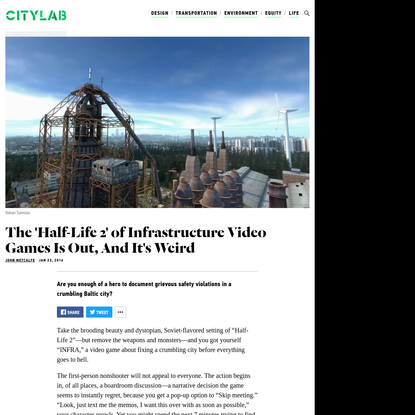This Video Game About Fixing Infrastructure Is Dazzling and Strange