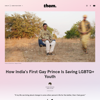 How India's First Gay Prince Is Saving LGBTQ+ Youth