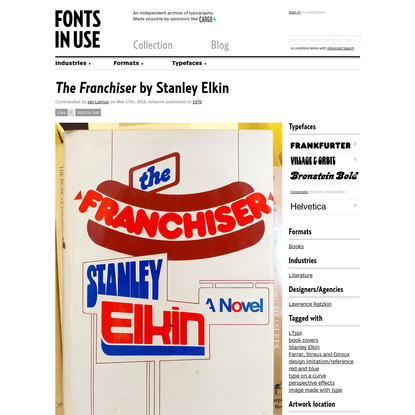 The Franchiser by Stanley Elkin