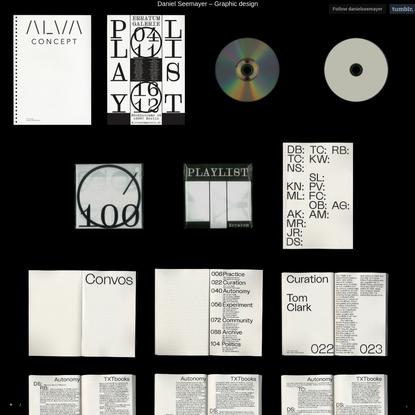 Daniel Seemayer - Graphic design