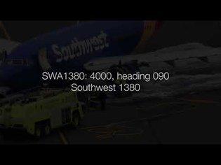 Southwest 1380 (engine failure 4/17/2018) ENTIRE EVENT: actual multi-sector ATC audio - YouTube