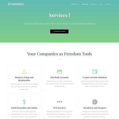Services - Otonomos.com