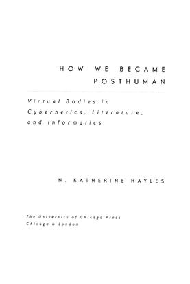 Hayles-Posthuman-excerpts.pdf