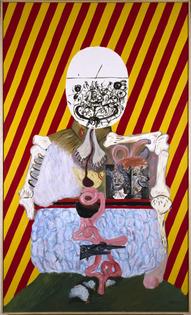 Eduardo Arroyo, Los cuatro dictadores, 1963