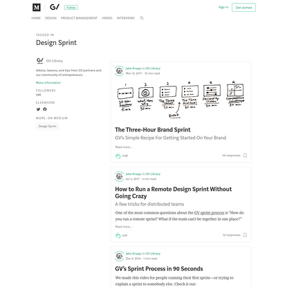 Design Sprint - GV Library