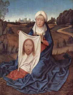 Saint Veronica, Hans Memling, 1470.