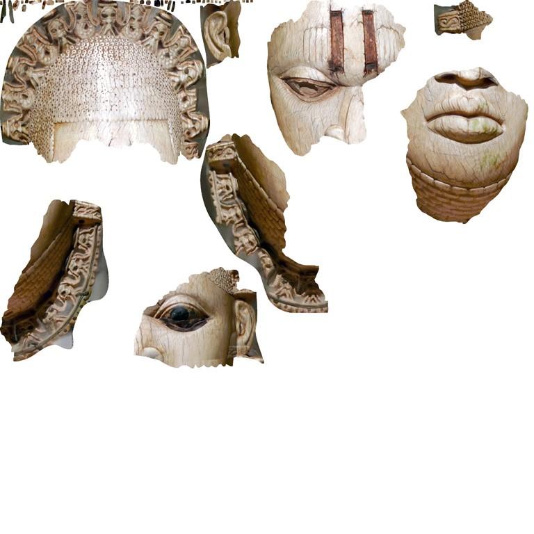 Surface Survey 1978.412.323  (Queen Mother Pendant Mask: Iyoba)